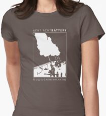 Flak 88 Battery Women's Fitted T-Shirt