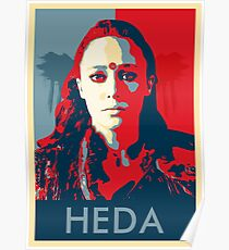 Posterized Heda Poster