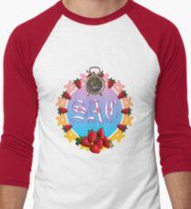 Sixties Daze Strawberry Fan Men's Baseball ¾ T-Shirt