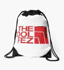 The Cool Fez Drawstring Bag