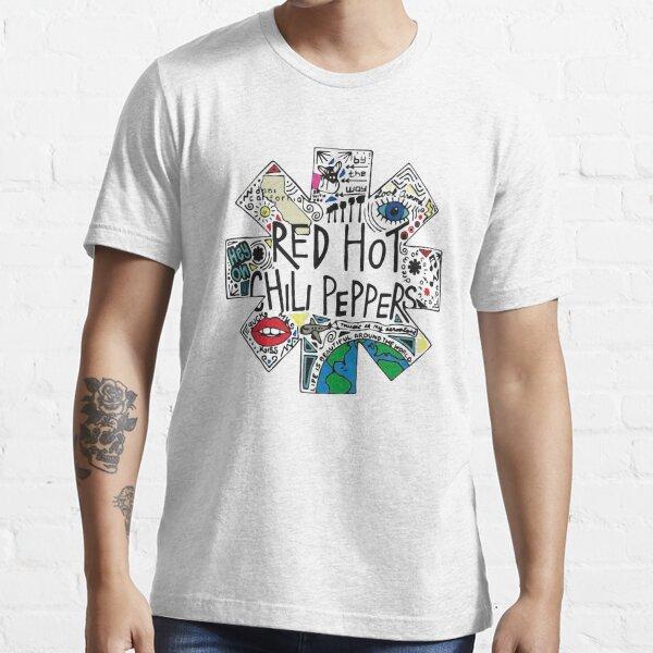 pokok e sangar lek RHCP ki Essential T-Shirt
