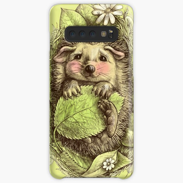 Little hedgehog colored Samsung Galaxy Snap Case