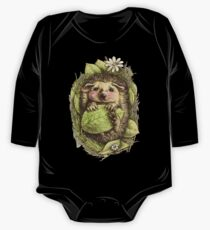 Little hedgehog colored One Piece - Long Sleeve