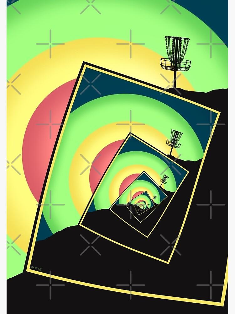 Spinning Disc Golf Baskets 5 by perkinsdesigns