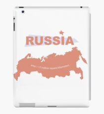 infographics Russia iPad Case/Skin