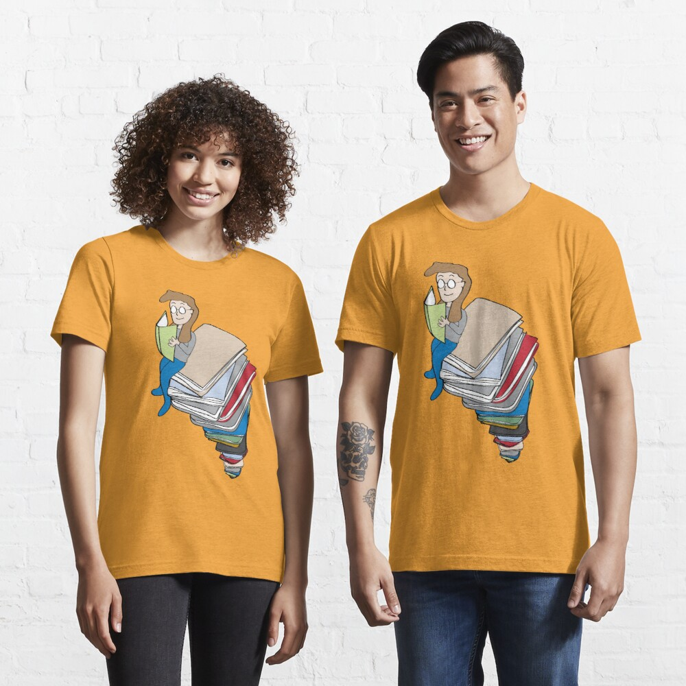 Tower of Books Essential T-Shirt