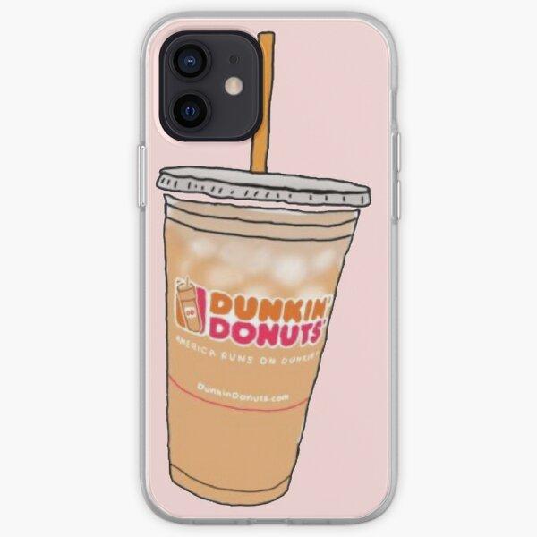Café glacé Dunkin  Coque souple iPhone