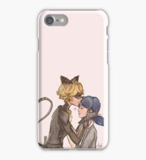 Marinette & Chat Noir iPhone Case/Skin