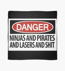 DANGER: There's danger afoot! Scarf