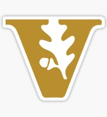 Vanderbilt University Sticker Sticker