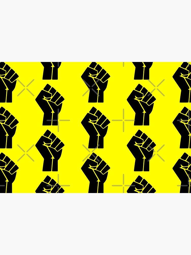 BLM Black Lives Matter Logo  by alecturner