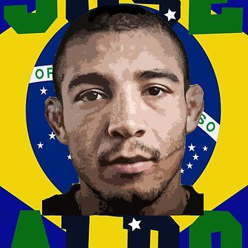 Jose Aldo Brazilian Beast by dno123