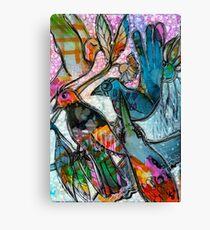Bright Birdys - Kerry Beazley Canvas Print