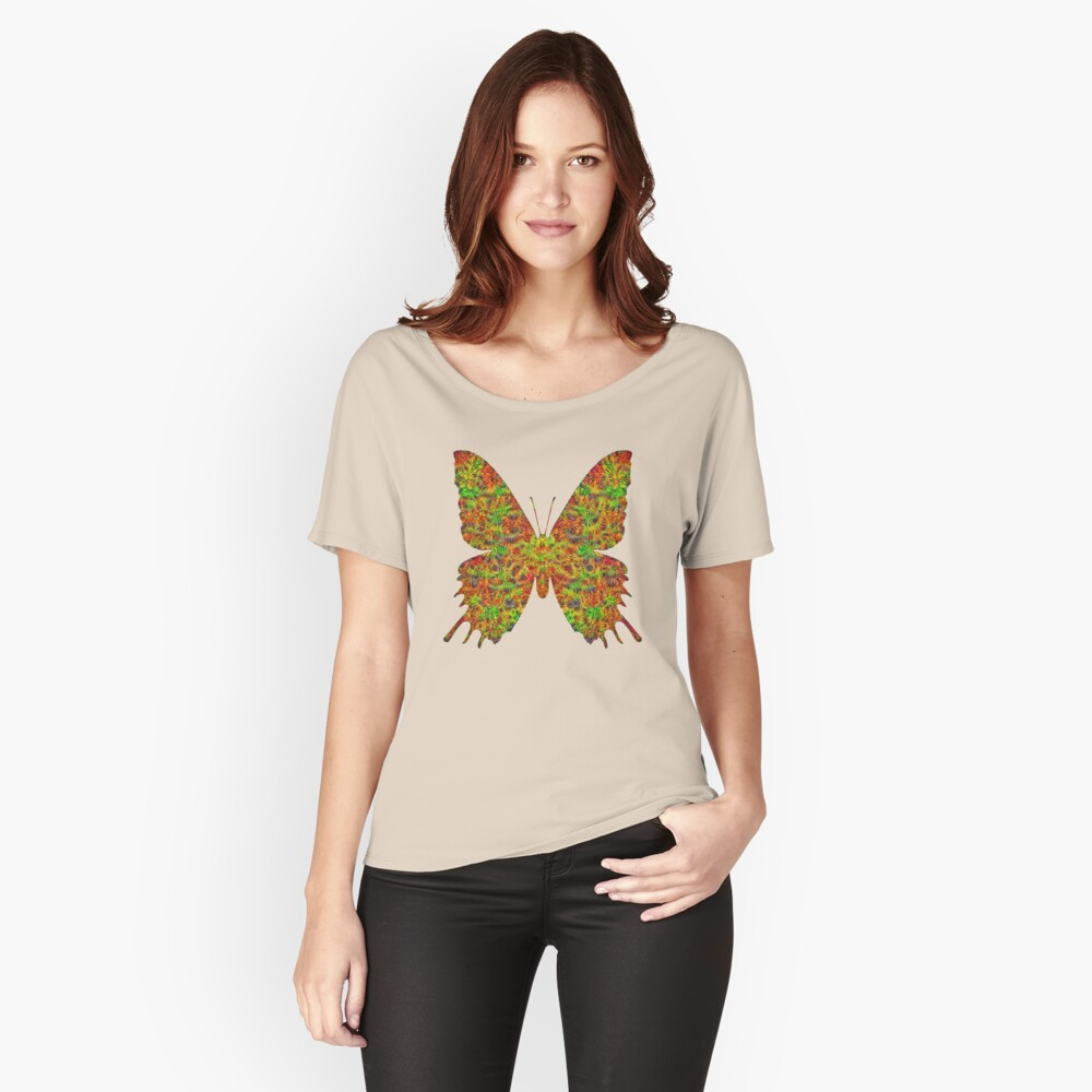 Butterfly Relaxed Fit T-Shirt