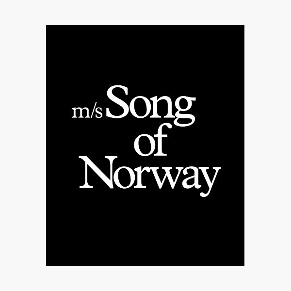 Song of Norway Photographic Print