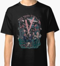 Out There Ode aux fichiers X T-shirt classique