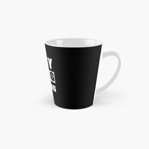 Funny Busy Doing Nothing For Lazy Sleepy Tired People Tall Mug