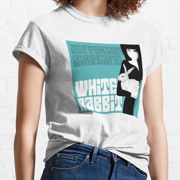 Jefferson Airplane's White Rabbit (Grace Slick) Classic T-Shirt