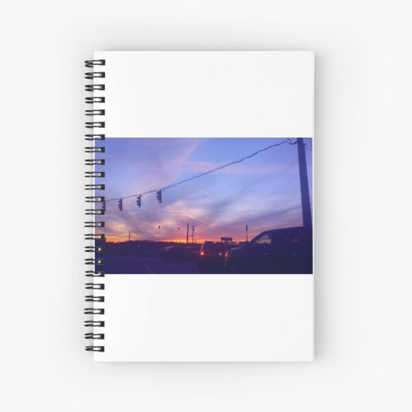 Lights At Dusk Spiral Notebook