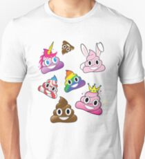 Silly Whacky Fun Poop Emoji Land Collection T-Shirt