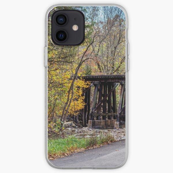 Sycamore Church Road Railroad Bridge iPhone Soft Case