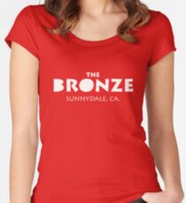 The Bronze – Buffy the Vampire Slayer, Sunnydale Women's Fitted Scoop T-Shirt