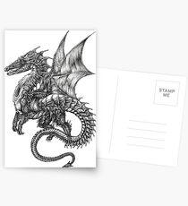 Postales Tatuaje de dragón