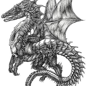 dragon tattoo by E-McAleavey