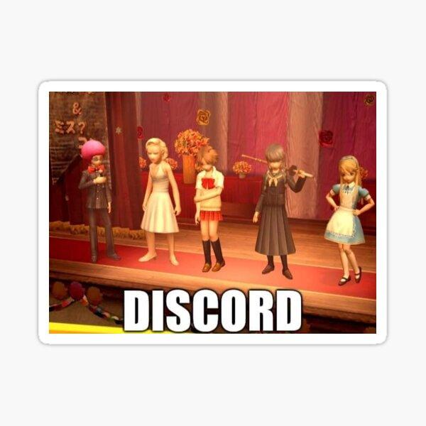 Persona 4 Discord Meme Pegatina
