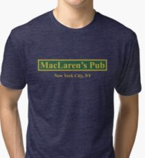 MacLaren's Pub, New York – How I Met Your Mother Tri-blend T-Shirt