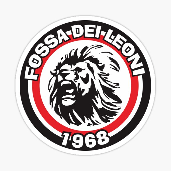 Fossa Dei Leoni - AC Milan Ultras Sticker