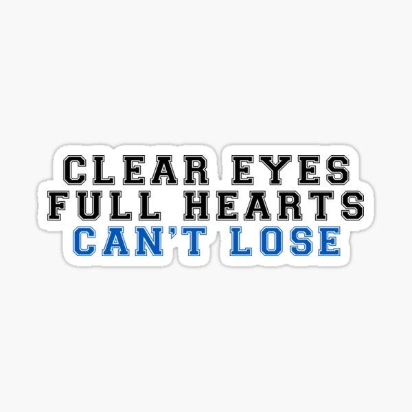 klare Augen Sticker