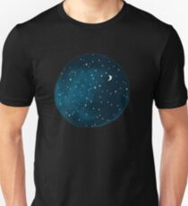 the stars, the moon, they have all been blown out T-Shirt