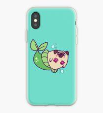 Pug Mermaid iPhone Case