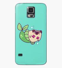 Pug Mermaid Case/Skin for Samsung Galaxy