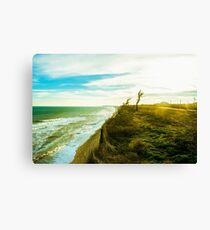 Awesome landscape of seashore Canvas Print