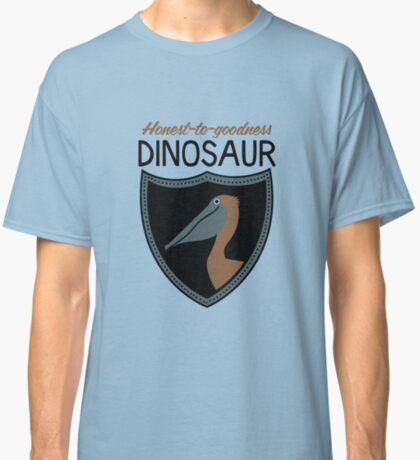 Honest-To-Goodness Dinosaur: Pelican (on light background) Classic T-Shirt