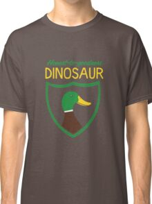 Honest-To-Goodness Dinosaur: Duck (on dark background) Classic T-Shirt