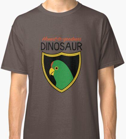 Honest-To-Goodness Dinosaur: Parakeet (on light background) Classic T-Shirt