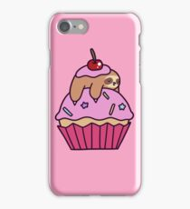 Cupcake Sloth iPhone Case/Skin