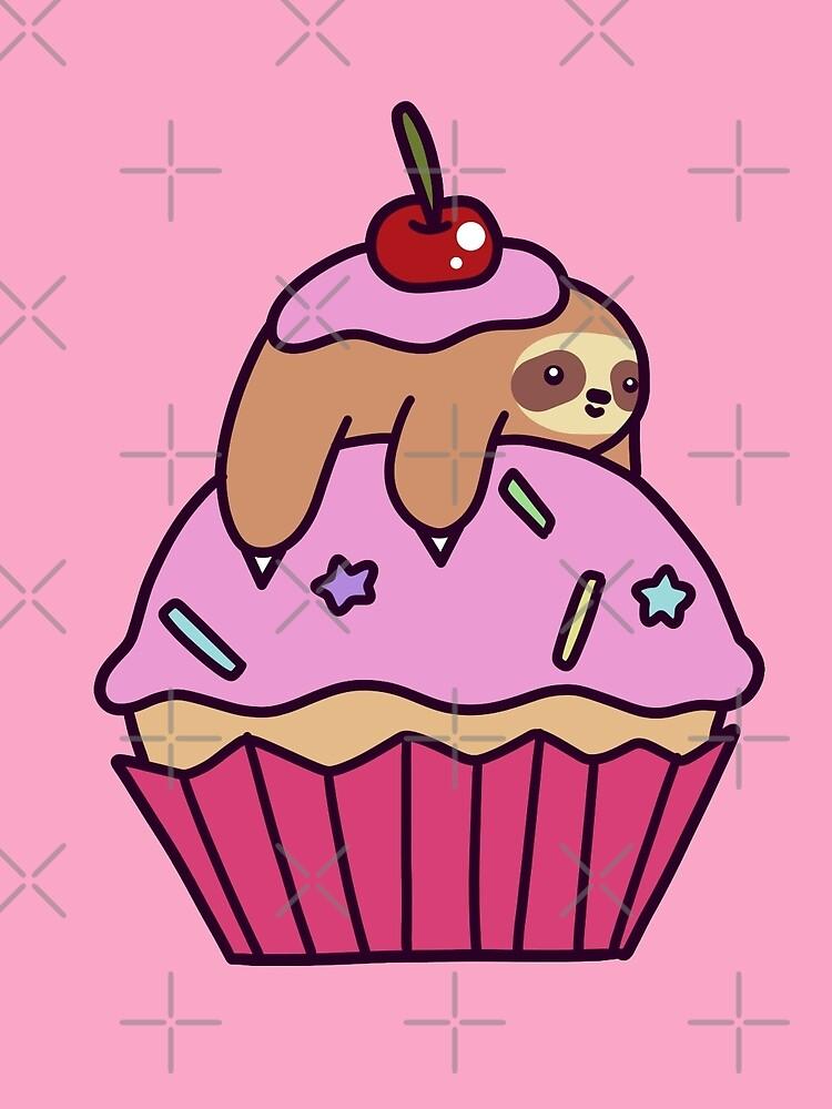 Cupcake Sloth by SaradaBoru