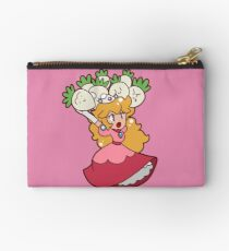 Princess Peach with Turnips Studio Pouch