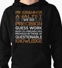 Programmer Analyst Pullover Hoodie