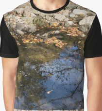 Water, Leaves, Stones and Branches Graphic T-Shirt