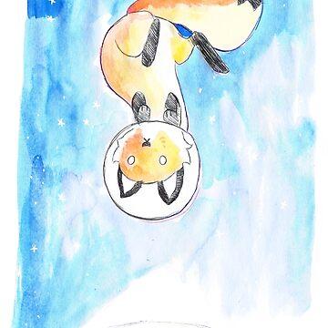 Space Fox by e-pona