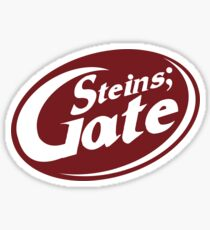 Steins;Gate - an intellectual beverage  Sticker