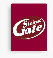 Steins;Gate - an intellectual beverage  Canvas Print