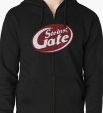 Steins;Gate - an intellectual beverage  Zipped Hoodie