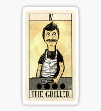 The Griller Sticker