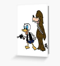 Duck Solo Greeting Card